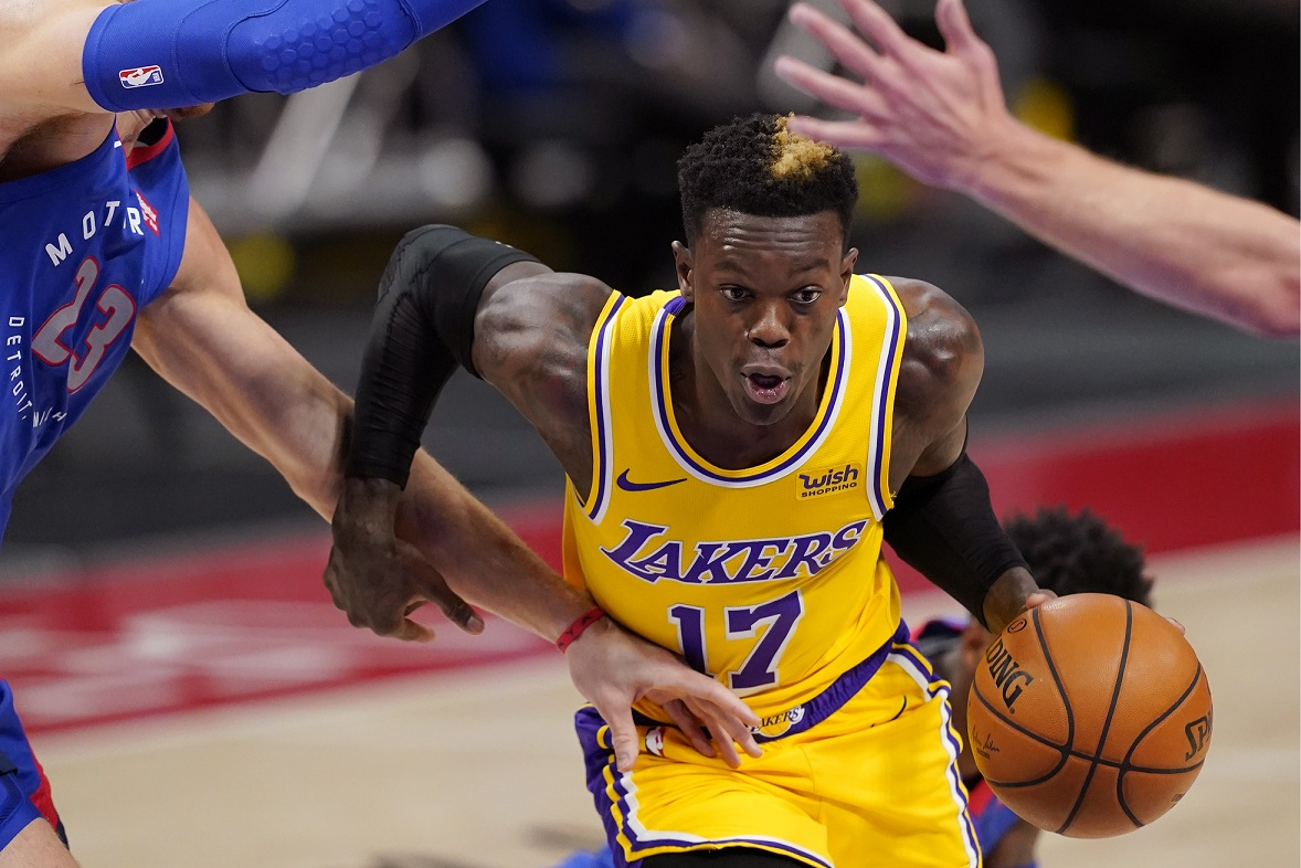 After misfortune to Detroit Pistons, Los Angeles Lakers assume stock