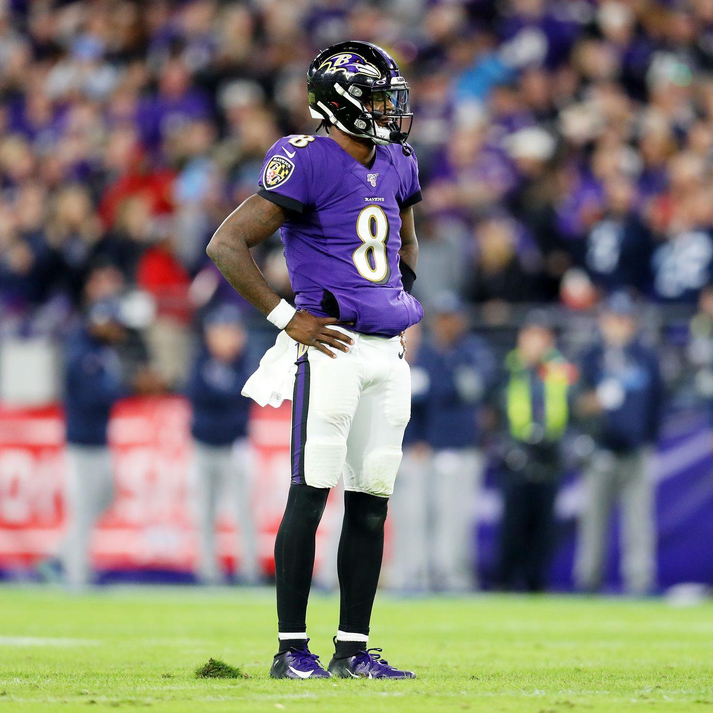 In wild card round, Lamar Jackson revamps season finisher account as Ravens beat Titans