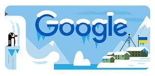 Celebrating the Vernadsky Research Base with doodle