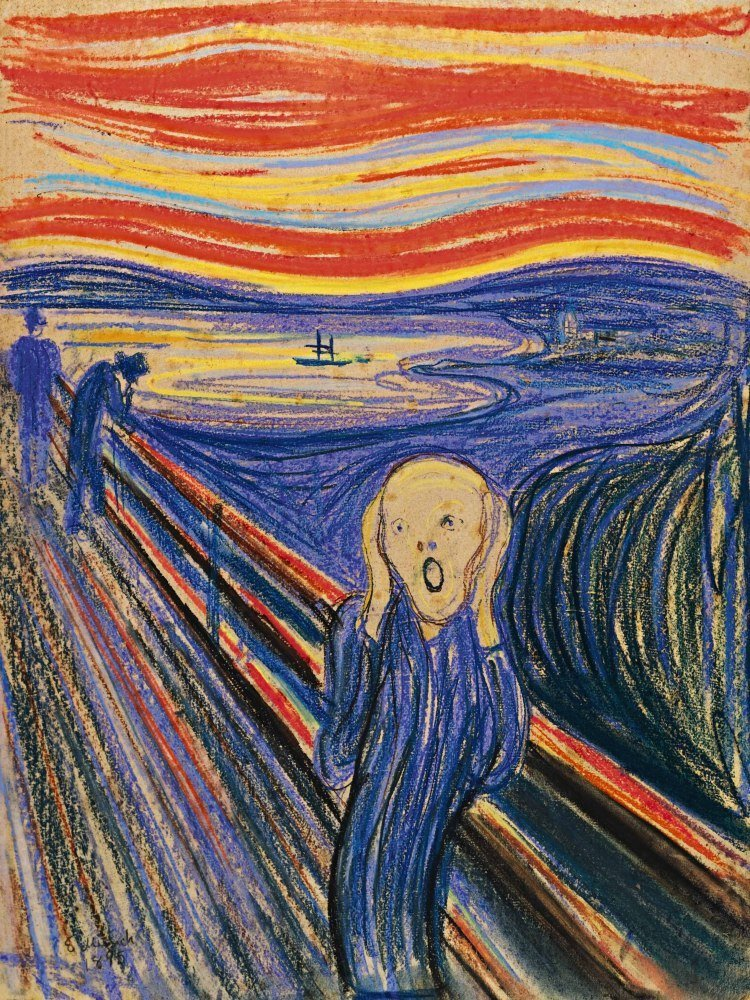 Edvard Munch wrote 'Lunatic' on 'The Scream', Norway Museum says